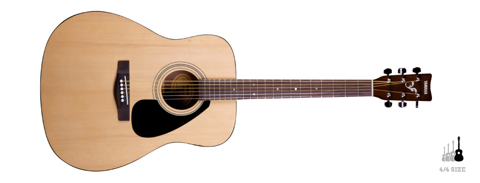 Yamaha Fsteel String Acoustic Guitar Beginners Pack